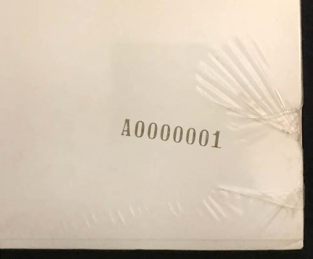 The Beatles White Album No. 0000001