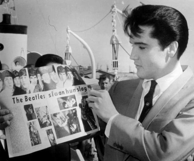 Elvis Presley, The Beatles
