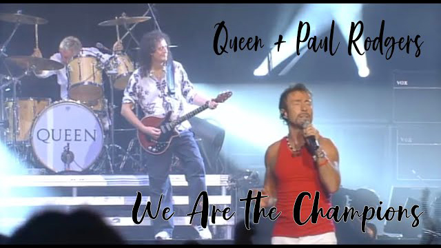 Queen+Paul Rodgers We Are The Champions - Super Live In Japan