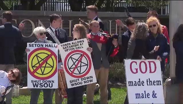 Catholic groups call on Seton Hall radio station to stop playing 'satanic' music