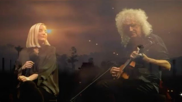 Brian May & Kerry Ellis Amazing Grace - Song For Nature