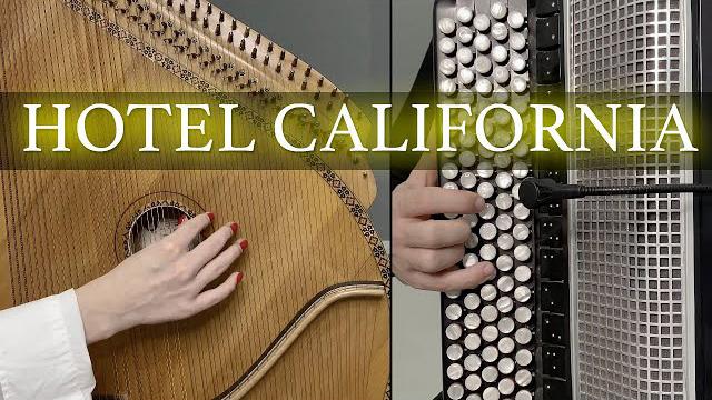 B&B Project - Hotel California | Bandura and Button Accordion Cover