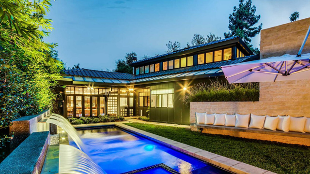 TOMMY LEE BUYS JAPANESE-INSPIRED PAD IN BRENTWOOD - Photo: Mike McNamara, ZenHouse