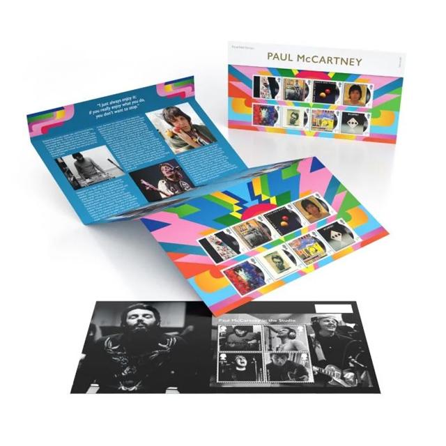 Paul McCartney stamps