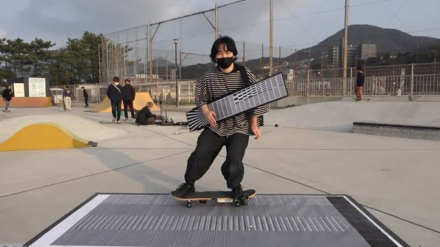 ELECTRONICOS FANTASTICOS! - BARCODE-BOARDING Testing in a park