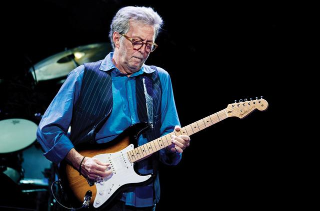Eric Clapton (Image credit: Iconic Auctions)