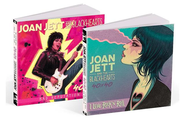 Joan Jett and the Blackhearts- 40x40: Bad Reputation/I Love Rock 'n Roll