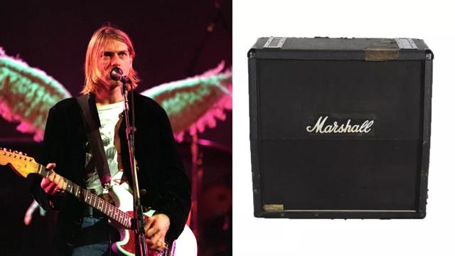 Kurt Cobain 's Marshall cabinet