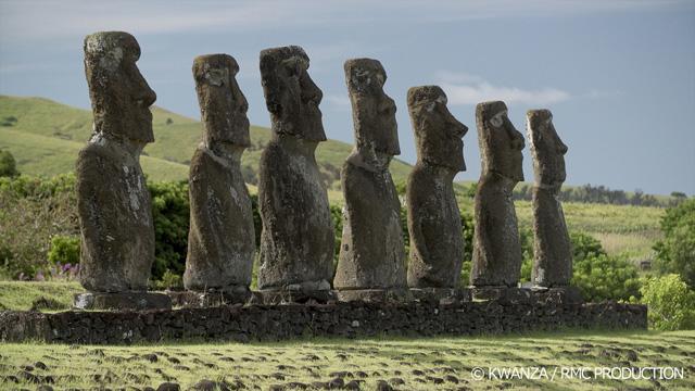 「イースター島のモアイ像 巨石文化の謎に迫る!」