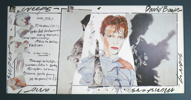 Edward Bell (British Contemporary) Scary Monsters (and Super Creeps) Album Design