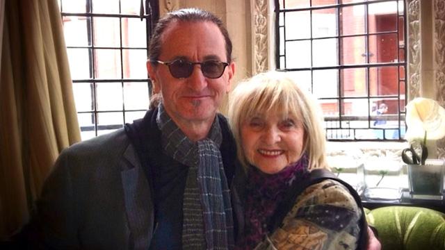 Rush's Geddy Lee and mom Mary Weinrib, via Instagram