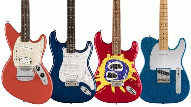 Fender - Kurt Cobain Jag-Stang、J Mascis signature Telecaster、Screamadelica 30th Anniversary Strat、Cory Wong Strat