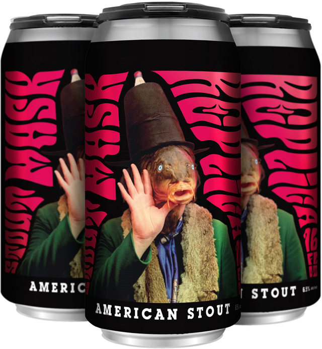 Duck Foot Beer - STOUT MASK REPLICA