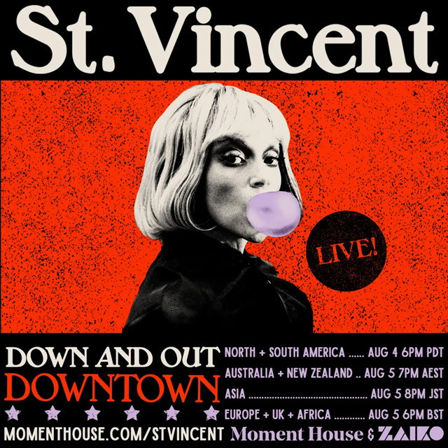 St. Vincent - Down and Out Downtown