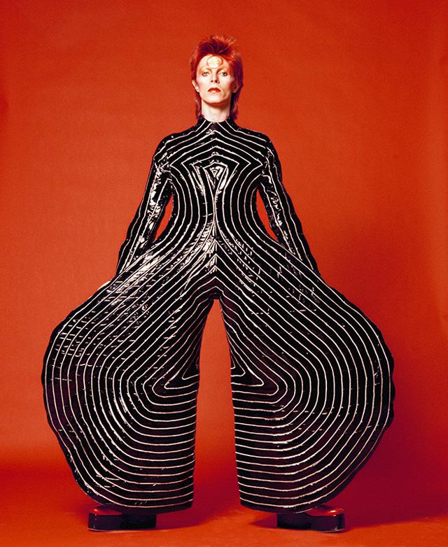 """David Bowie, Watch That Man III, 1973"" @Sukita"