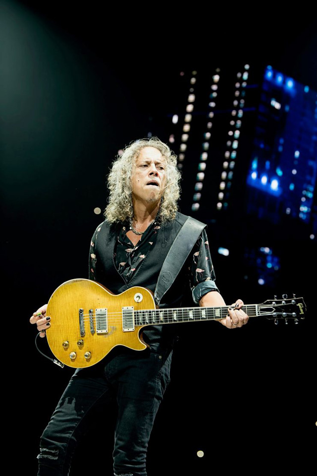 Kirk Hammett - Photo by Ross Halfin