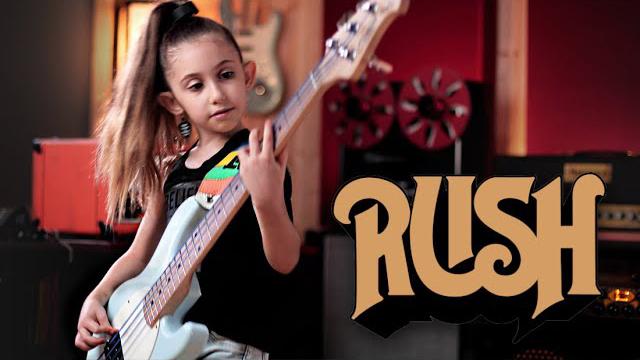 Ellen Alaverdyan - Rush - Tom Sawyer (Bass Cover)