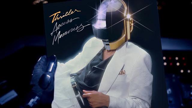 Thriller Access Memories: A Daft Punk & Michael Jackson Album
