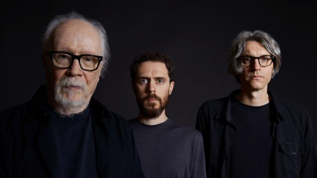 John Carpenter, Cody Carpenter, and Daniel Davie, photo by Sophie Gransard