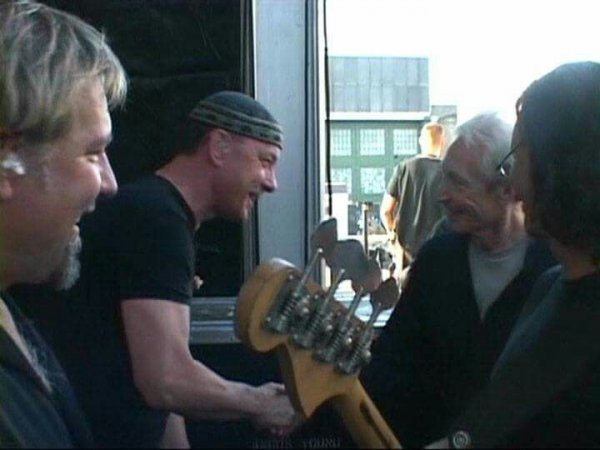 Neil Peart and Charlie Watts