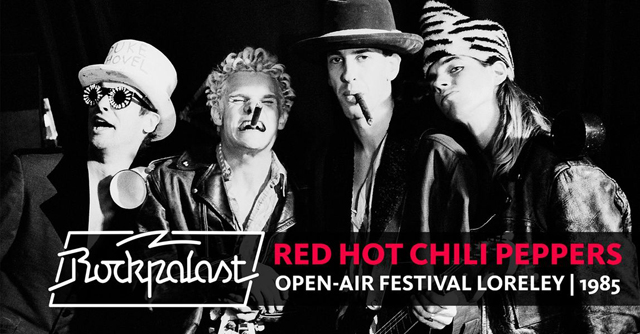 Red Hot Chili Peppers / Rockpalast Open Air Loreley 1985