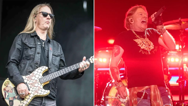 Jerry Cantrell, Axl Rose