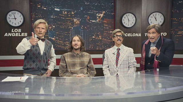 Red Hot Chili Peppers - Breaking News out of the KHOT News Room!