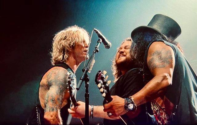 Guns N' Roses with Wolfgang Van Halen