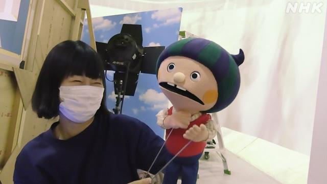 NHK『プロフェッショナル 仕事の流儀「心をこめる、人形を生きる〜人形操演・山田はるか〜」』(c)NHK