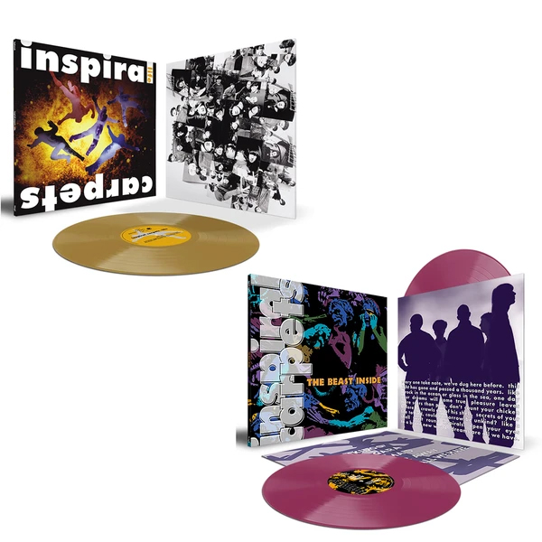 Inspiral Carpets - Life + The Beast Inside - Limited Edition Colour Vinyl